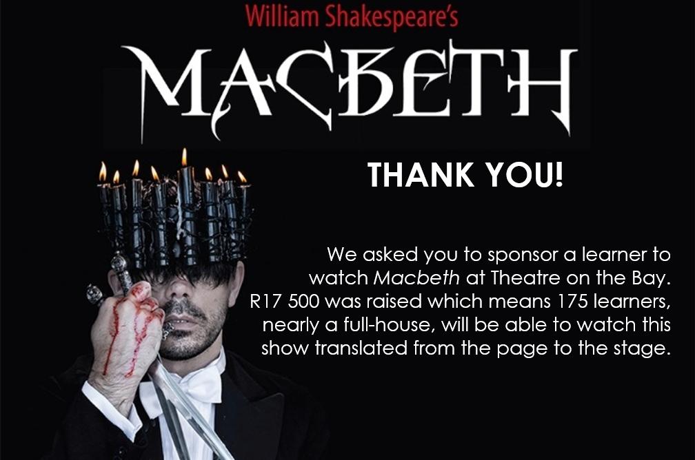 MACBETH THANK YOU