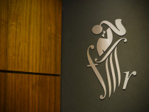 FMR Logo outside reception