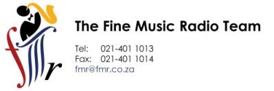 FMR Web Signature