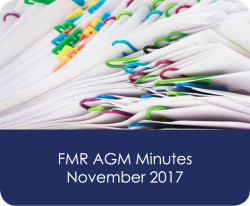 FMR AGM Minutes 2017