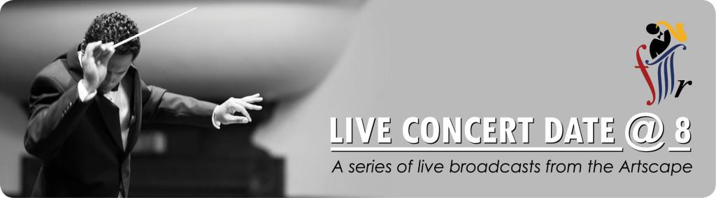 Live Concert Date at 8 Header